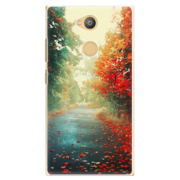 Plastové pouzdro iSaprio - Autumn 03 - Sony Xperia L2