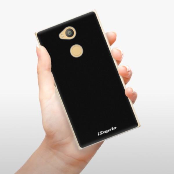 Plastové pouzdro iSaprio - 4Pure - černý - Sony Xperia L2