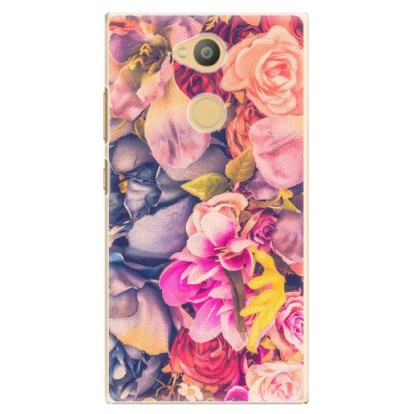 Plastové pouzdro iSaprio - Beauty Flowers - Sony Xperia L2