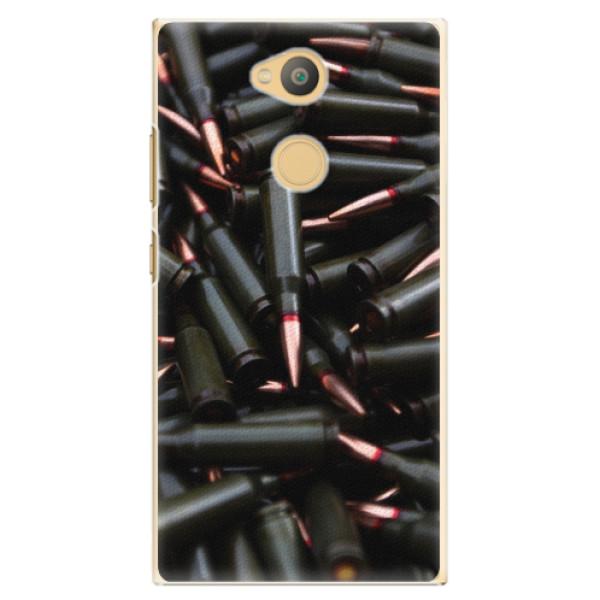 Plastové pouzdro iSaprio - Black Bullet - Sony Xperia L2