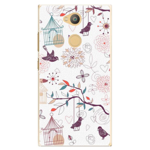 Plastové pouzdro iSaprio - Birds - Sony Xperia L2