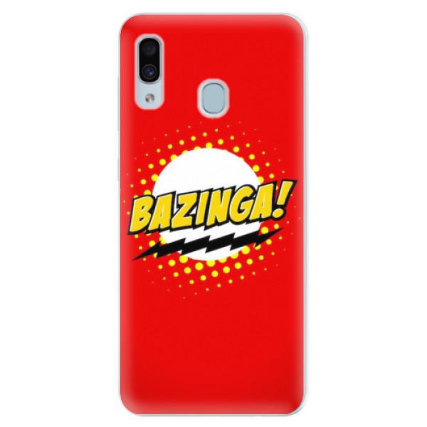 Silikonové pouzdro iSaprio - Bazinga 01 - Samsung Galaxy A30
