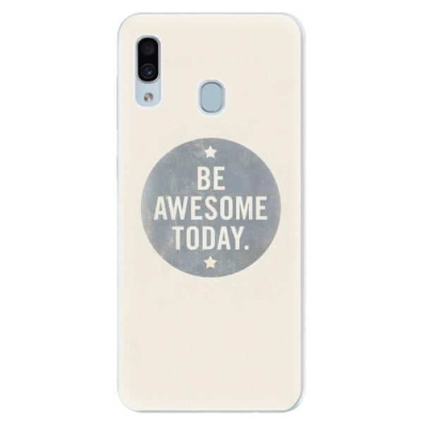 Silikonové pouzdro iSaprio - Awesome 02 - Samsung Galaxy A30
