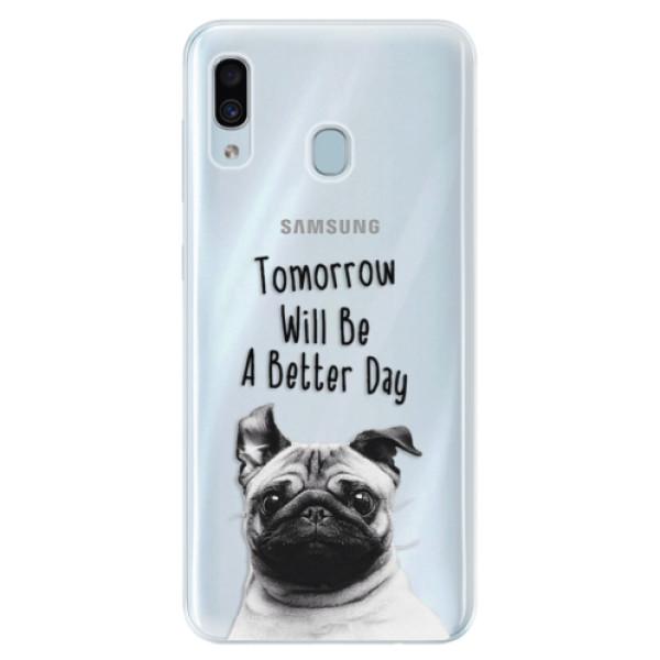 Silikonové pouzdro iSaprio - Better Day 01 - Samsung Galaxy A30