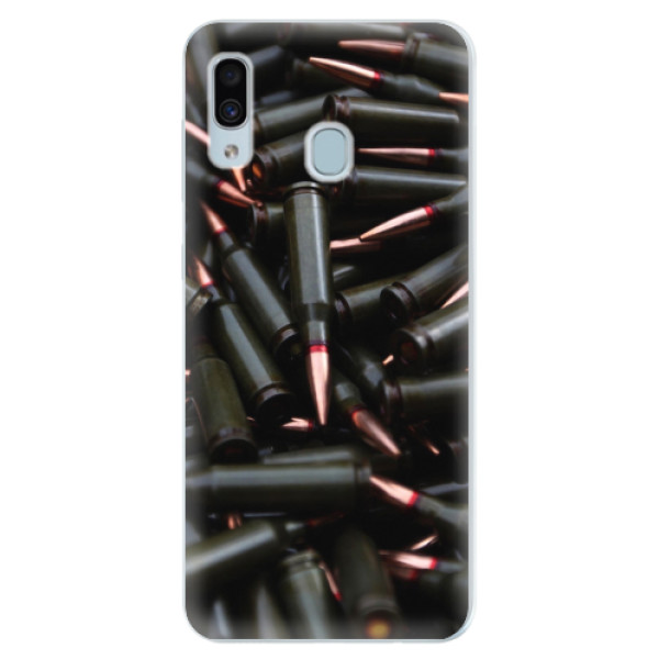 Silikonové pouzdro iSaprio - Black Bullet - Samsung Galaxy A30