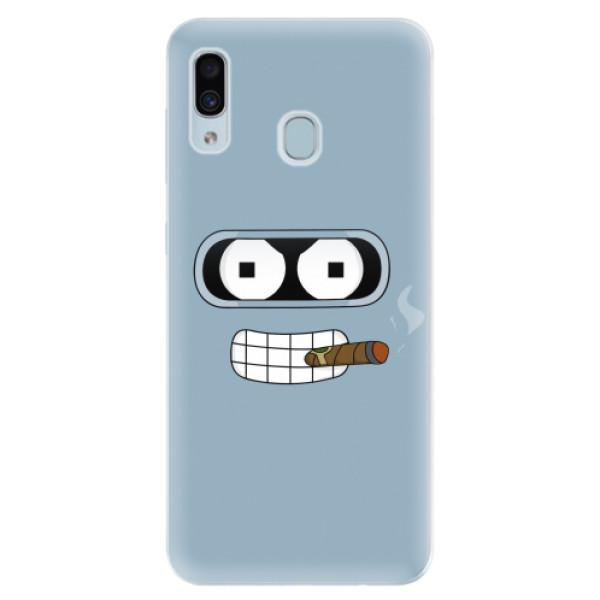 Silikonové pouzdro iSaprio - Bender - Samsung Galaxy A30