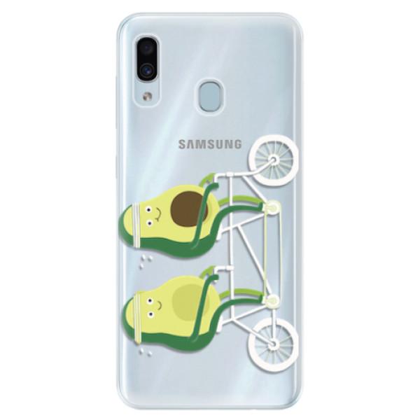 Silikonové pouzdro iSaprio - Avocado - Samsung Galaxy A30