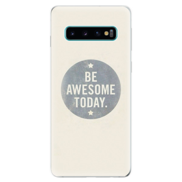 Odolné silikonové pouzdro iSaprio - Awesome 02 - Samsung Galaxy S10