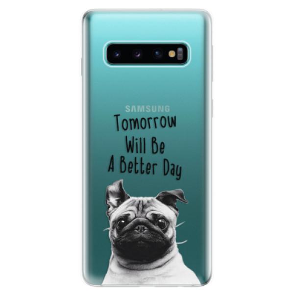 Odolné silikonové pouzdro iSaprio - Better Day 01 - Samsung Galaxy S10
