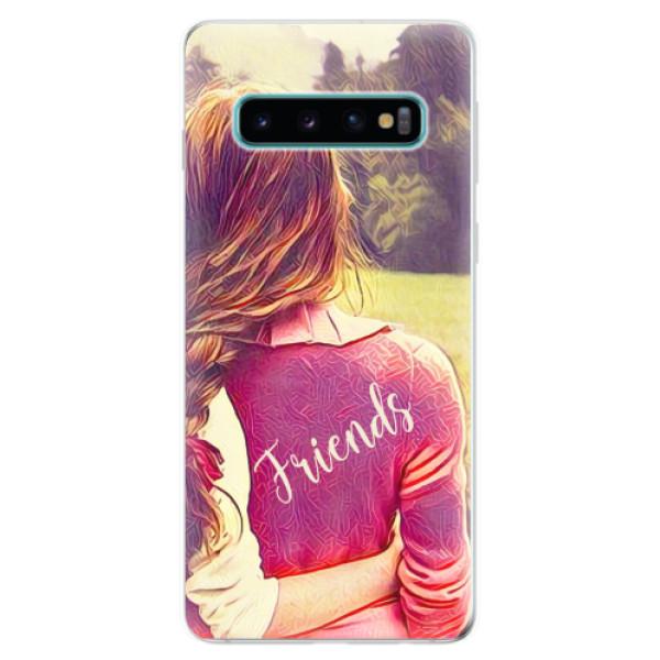 Odolné silikonové pouzdro iSaprio - BF Friends - Samsung Galaxy S10