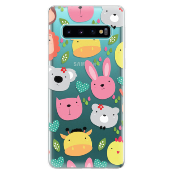 Odolné silikonové pouzdro iSaprio - Animals 01 - Samsung Galaxy S10