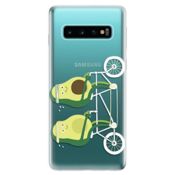 Odolné silikonové pouzdro iSaprio - Avocado - Samsung Galaxy S10