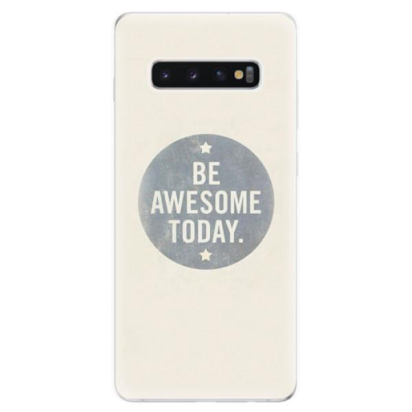 Odolné silikonové pouzdro iSaprio - Awesome 02 - Samsung Galaxy S10+