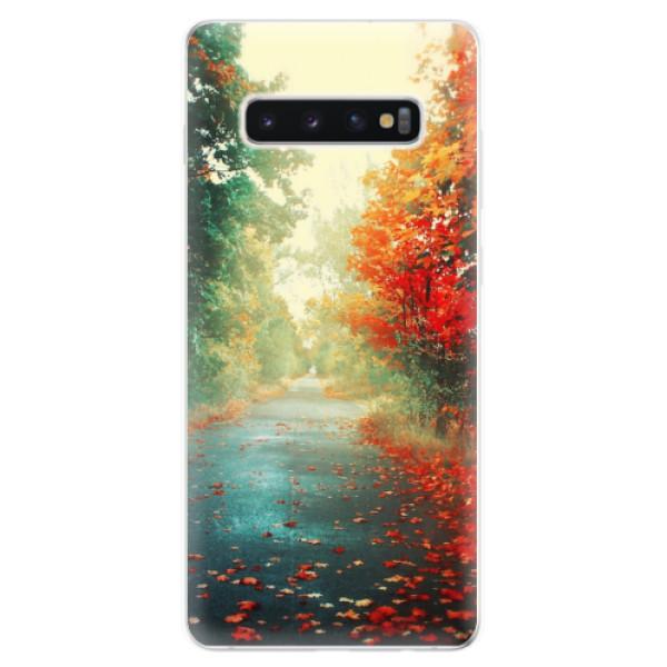 Odolné silikonové pouzdro iSaprio - Autumn 03 - Samsung Galaxy S10+