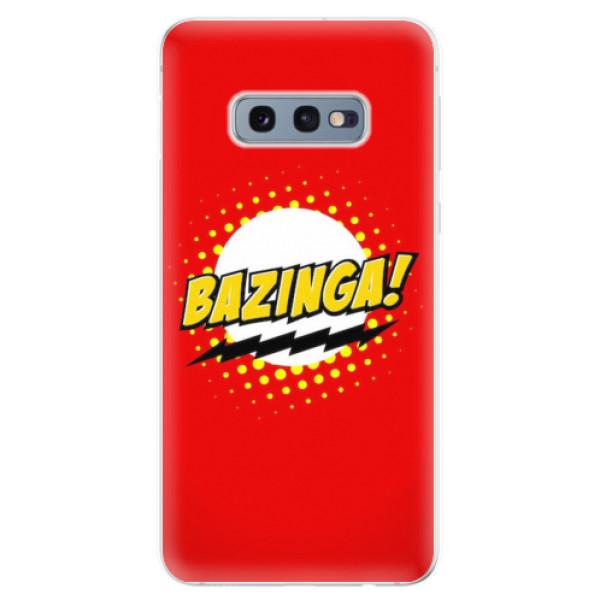 Odolné silikonové pouzdro iSaprio - Bazinga 01 - Samsung Galaxy S10e