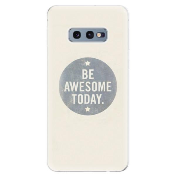 Odolné silikonové pouzdro iSaprio - Awesome 02 - Samsung Galaxy S10e