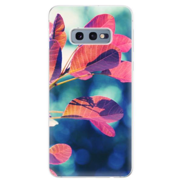 Odolné silikonové pouzdro iSaprio - Autumn 01 - Samsung Galaxy S10e