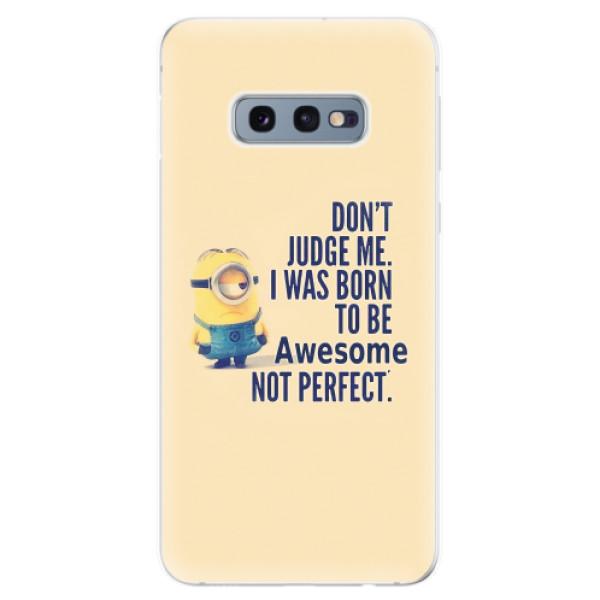 Odolné silikonové pouzdro iSaprio - Be Awesome - Samsung Galaxy S10e