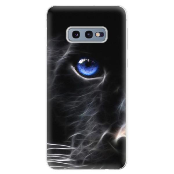 Odolné silikonové pouzdro iSaprio - Black Puma - Samsung Galaxy S10e