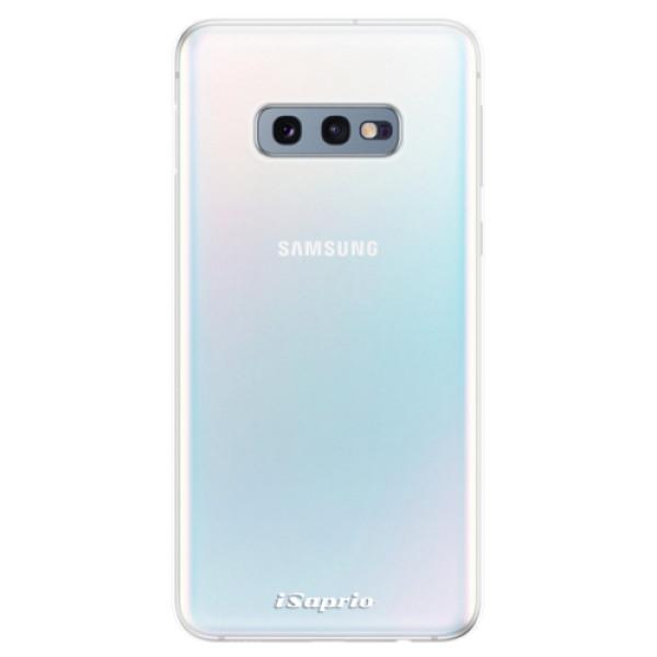 Odolné silikonové pouzdro iSaprio - 4Pure - mléčný bez potisku - Samsung Galaxy S10e