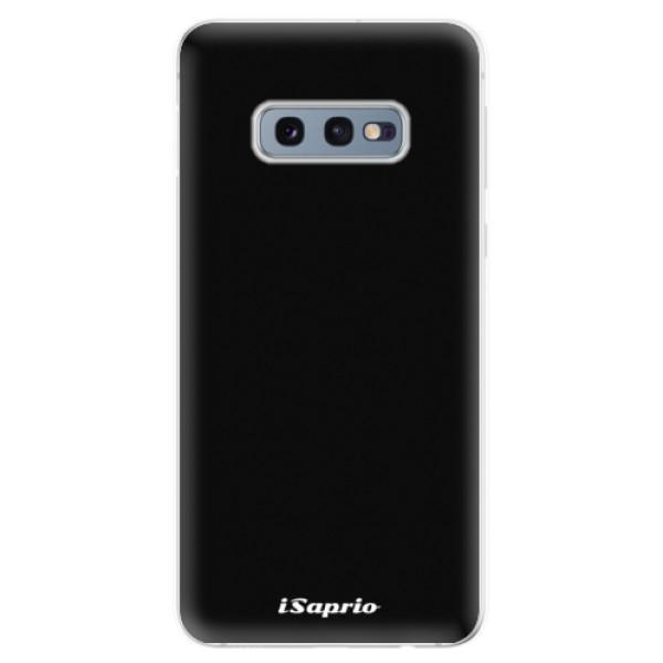 Odolné silikonové pouzdro iSaprio - 4Pure - černý - Samsung Galaxy S10e