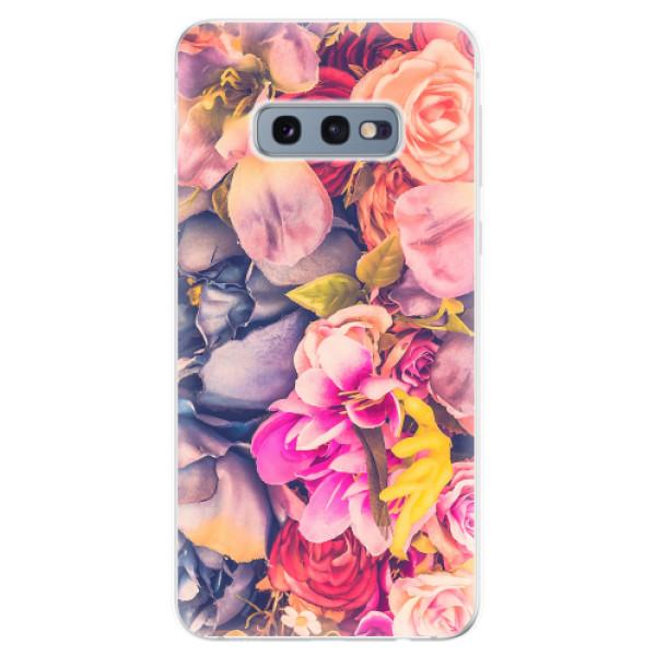 Odolné silikonové pouzdro iSaprio - Beauty Flowers - Samsung Galaxy S10e