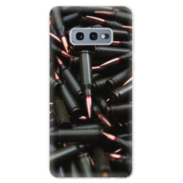 Odolné silikonové pouzdro iSaprio - Black Bullet - Samsung Galaxy S10e