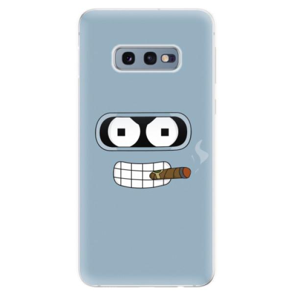 Odolné silikonové pouzdro iSaprio - Bender - Samsung Galaxy S10e