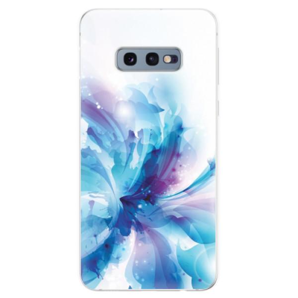 Odolné silikonové pouzdro iSaprio - Abstract Flower - Samsung Galaxy S10e