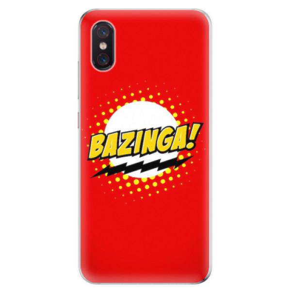 Odolné silikonové pouzdro iSaprio - Bazinga 01 - Xiaomi Mi 8 Pro