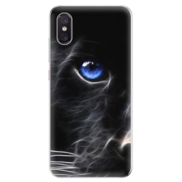 Odolné silikonové pouzdro iSaprio - Black Puma - Xiaomi Mi 8 Pro