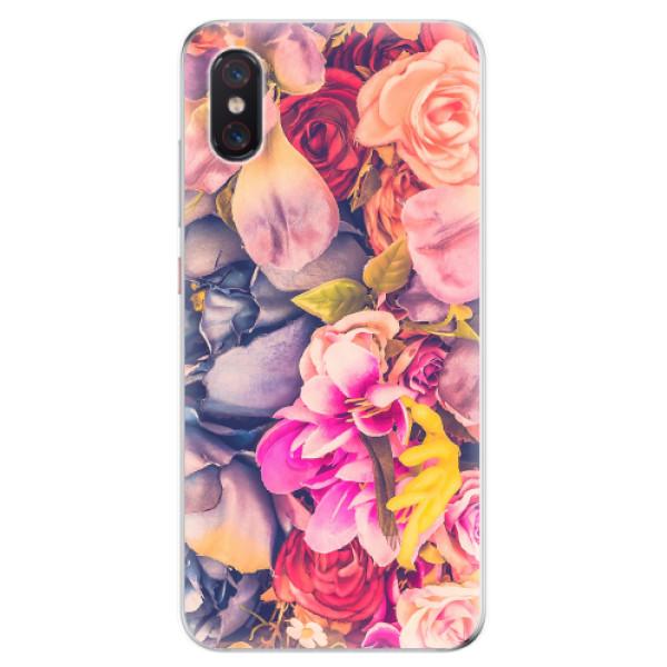 Odolné silikonové pouzdro iSaprio - Beauty Flowers - Xiaomi Mi 8 Pro
