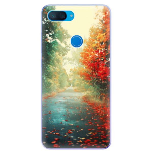 Odolné silikonové pouzdro iSaprio - Autumn 03 - Xiaomi Mi 8 Lite