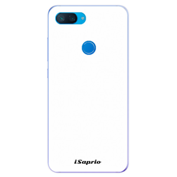 Odolné silikonové pouzdro iSaprio - 4Pure - bílý - Xiaomi Mi 8 Lite
