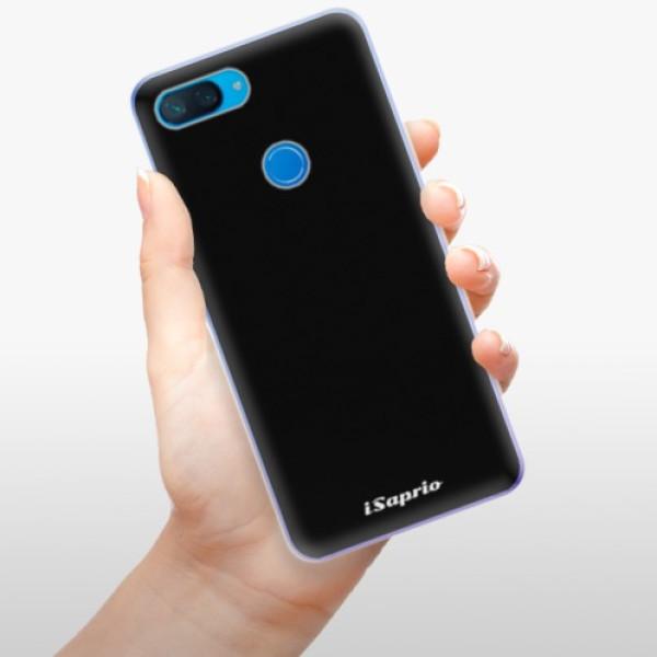 Odolné silikonové pouzdro iSaprio - 4Pure - černý - Xiaomi Mi 8 Lite