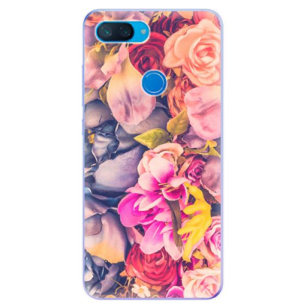 Odolné silikonové pouzdro iSaprio - Beauty Flowers - Xiaomi Mi 8 Lite