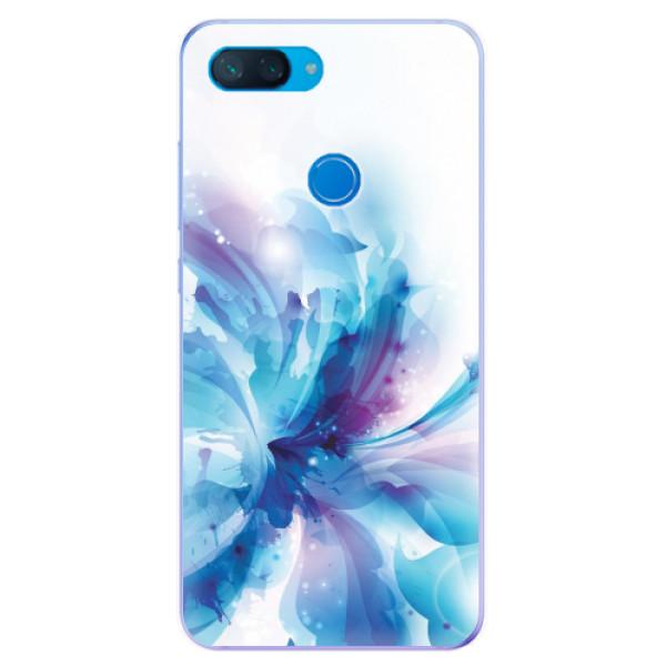 Odolné silikonové pouzdro iSaprio - Abstract Flower - Xiaomi Mi 8 Lite