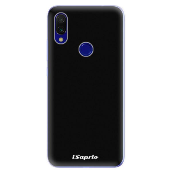 Odolné silikonové pouzdro iSaprio - 4Pure - černý - Xiaomi Redmi 7