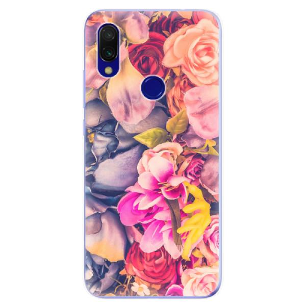 Odolné silikonové pouzdro iSaprio - Beauty Flowers - Xiaomi Redmi 7