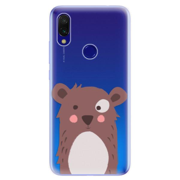 Odolné silikonové pouzdro iSaprio - Brown Bear - Xiaomi Redmi 7