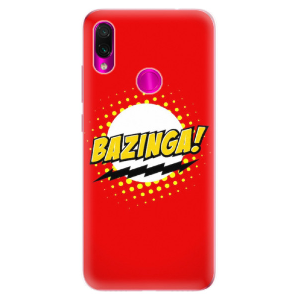 Odolné silikonové pouzdro iSaprio - Bazinga 01 - Xiaomi Redmi Note 7