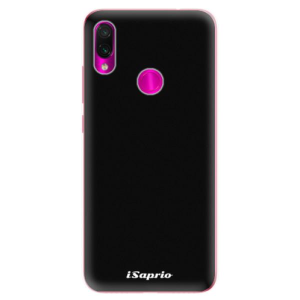 Odolné silikonové pouzdro iSaprio - 4Pure - černý - Xiaomi Redmi Note 7