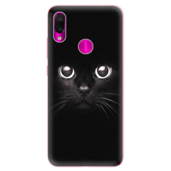 Odolné silikonové pouzdro iSaprio - Black Cat - Xiaomi Redmi Note 7