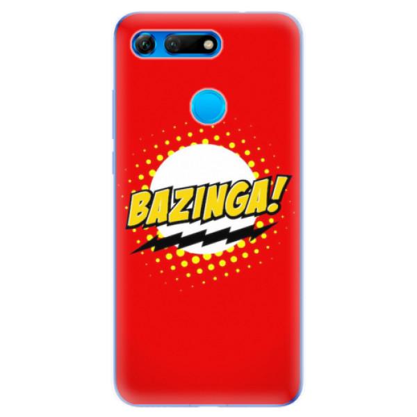 Odolné silikonové pouzdro iSaprio - Bazinga 01 - Huawei Honor View 20