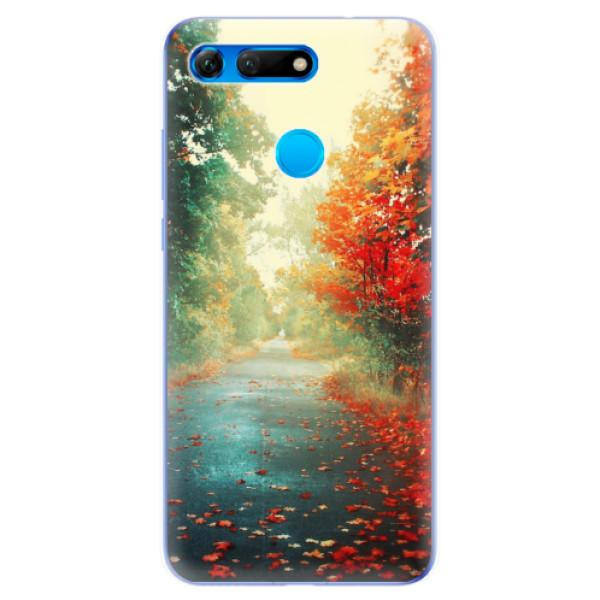 Odolné silikonové pouzdro iSaprio - Autumn 03 - Huawei Honor View 20