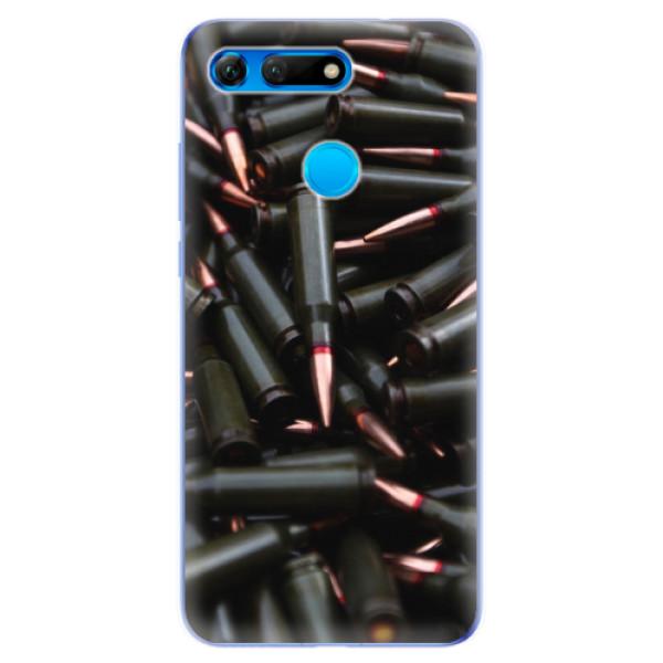 Odolné silikonové pouzdro iSaprio - Black Bullet - Huawei Honor View 20