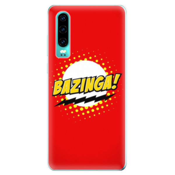 Odolné silikonové pouzdro iSaprio - Bazinga 01 - Huawei P30