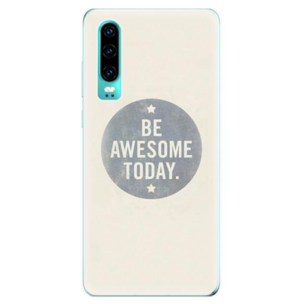 Odolné silikonové pouzdro iSaprio - Awesome 02 - Huawei P30