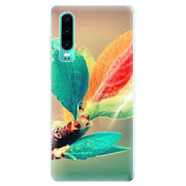 Odolné silikonové pouzdro iSaprio - Autumn 02 - Huawei P30