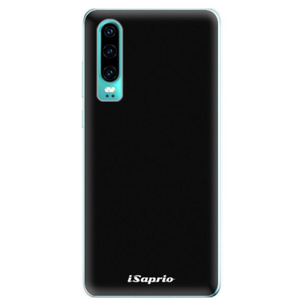 Odolné silikonové pouzdro iSaprio - 4Pure - černý - Huawei P30